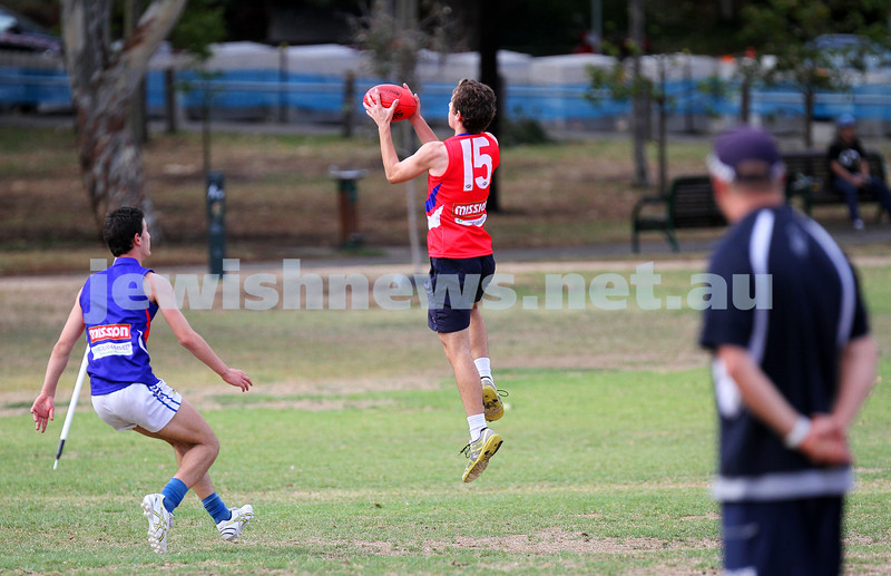 16-3-14. Unity Cup 2014. J J Holland Reserve, Kensington. MUJU v Foorscray. Photo: Peter Haskin