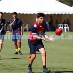 29-3-15. AFL Unity Cup.  J J Holland Reserve, Kensington. Mount Scopus team. Photo: Peter Haskin