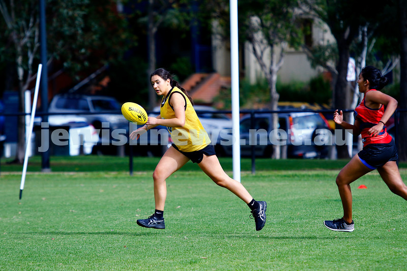 2-4-17. 2017 Unity Cup.  Jew Crew Girls v Bharat Bombers Photo: Peter Haskin