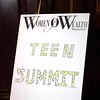 Women of Wealth Global Teen Summit 2012 :