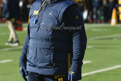 ANN ARBOR, MI - NOVEMBER 25:  College Football game between University of Michigan Wolverines and Ohio State University Buckeyes at Michigan Stadium on November 25, 2017 in Ann Arbor, MI (Photo by:  Aaron J. / Digital Depictions)