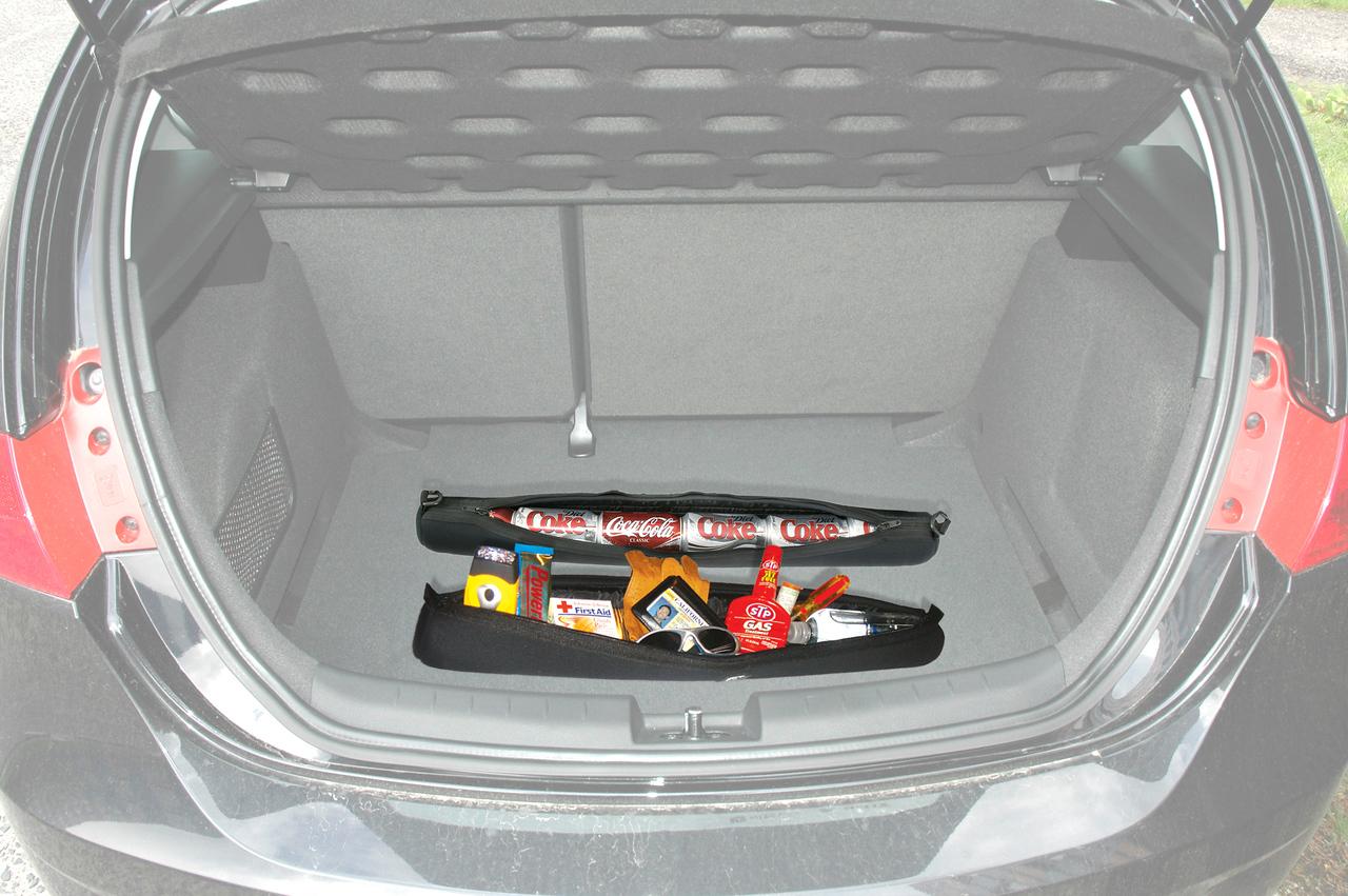 Empty trunk