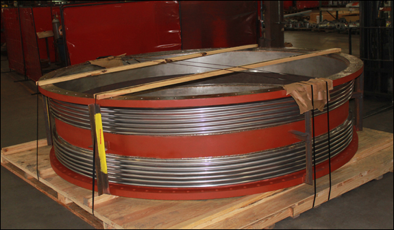 """136"""" Dia. Universal Expansion Joint (#134754 - 08/02/2015)"""