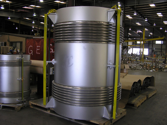 """66"""" Tied Universal Expansion Joint for Pipe Carrying Sulfur Dioxide (#89134 - 10/25/2006)"""
