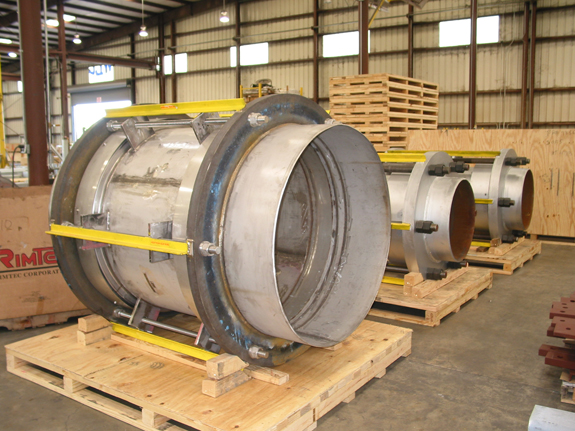 """48"""" Diameter Tied Universal Expansion Joints (08/27/2004)"""