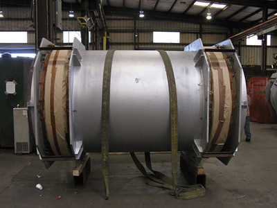 Universal refractory lined in progress for an Indian oil refinery