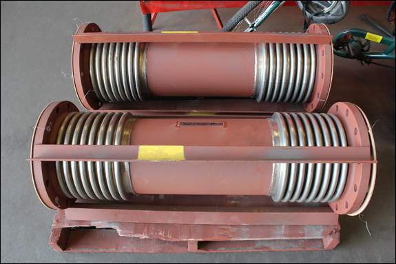 """10"""" Dia. Universal Expansion Joints (#142501 - 09/29/2015)"""