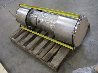 Small stainless steel expansion joint