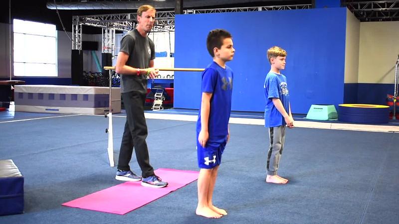 Boys Gymnastics Week 2
