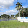 DAVIE, FLORIDA, USA:  Broward College sign located on A. Hugh Adams Central Campus.  The college is part of the Florida College System as seen on January 14, 2020.
