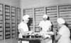 Nurses' Workroom