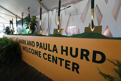 Hurd Visitors Center - Ground Breaking – 02/21/2020 – Paula Hurd – Linda Livingstone – Tennis – Board of Regents – President's Council