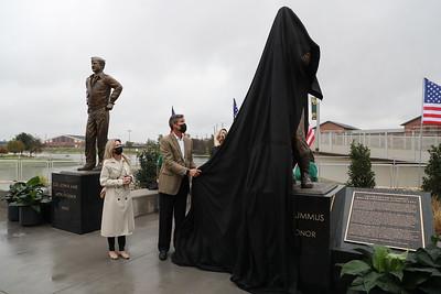 Advancement - Medal of Honor - Veterans Statue Dedication - Haag and Millette Sheridan - Jack Lummus - John Kane - 11/28/2020
