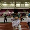 6K Walk for Water @ Boston University --Epic frozen t-shirt relay race