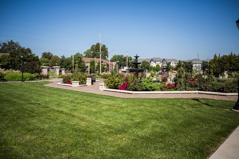 The University Gardens at Kansas State University was established in 1989. There are no set hours of operation. Anyone from college students to Manhattan residents alike are able to visit University Gardens anytime they wish. (Logan Wassall | Collegian Media Group)