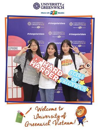 University of Greenwich Vietnam | Welcome Day instant print photo booth @ Greenwich Ha Noi | Chụp ảnh lấy ngay Sự kiện tại Hà Nội | Photobooth Hanoi