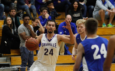 University Prep at Oroville High School boys basketballNovember 29, 2016 in Oroville, California. . (Emily Bertolino -- Mercury Register)