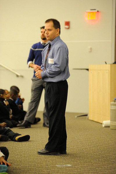 UB STEM hosts Westminster Community Charter School 1st grade students. January 23, 2014.