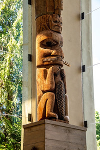 Mid section of the totem