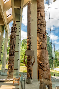 Amazing totem in the middle