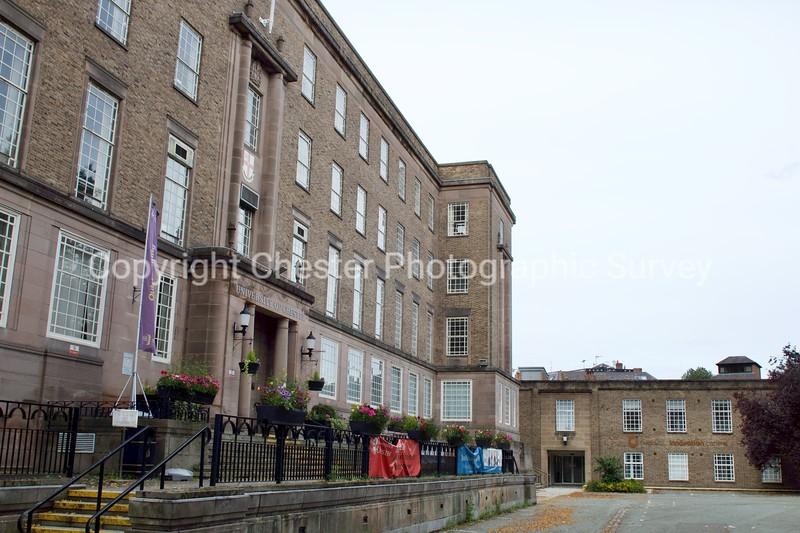 University of Chester: Riverside Campus: Castle Drive