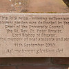 The Alumni Garden: The University of Chester: Parkgate Road