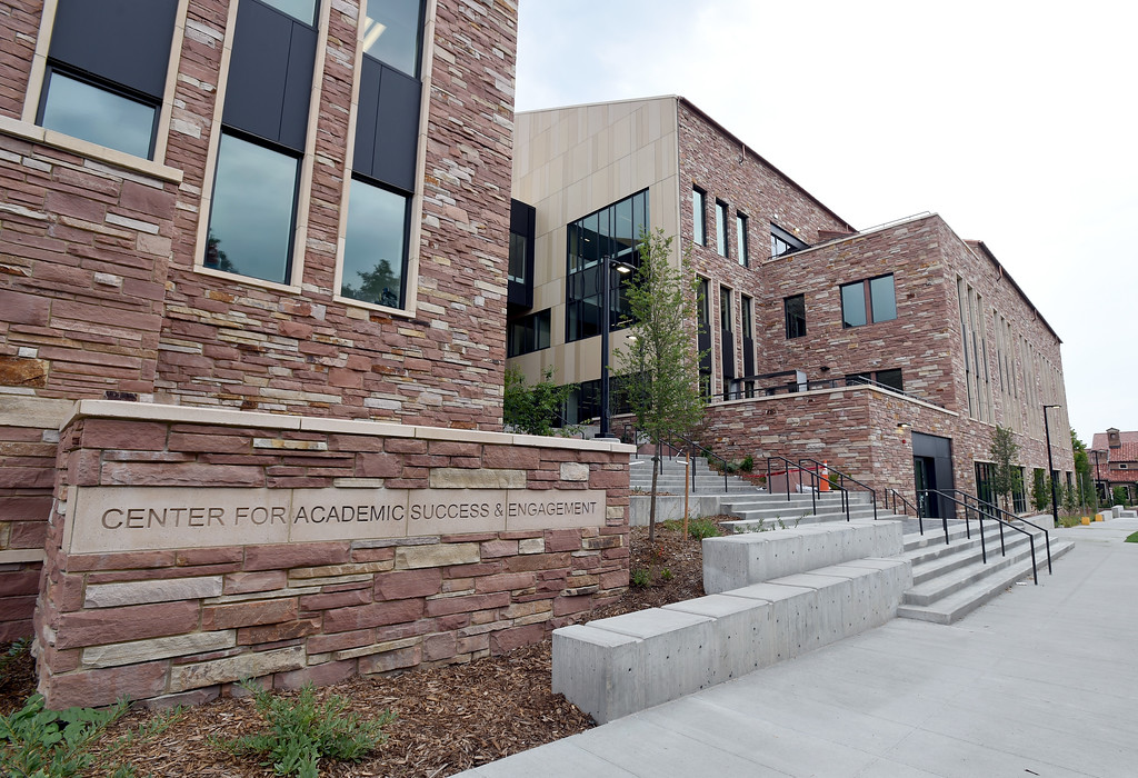. The new Center for Academic Success & Engagement (CASE) building  at the University of Colorado. For more photos, go to dailycamera.com. Cliff Grassmick  Staff Photographer  August 3, 2018