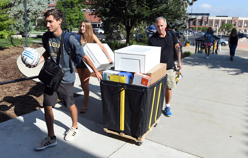 University of Colorado Move In