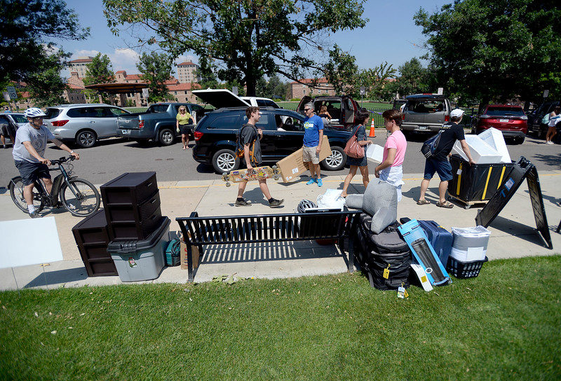 CU Student Move In