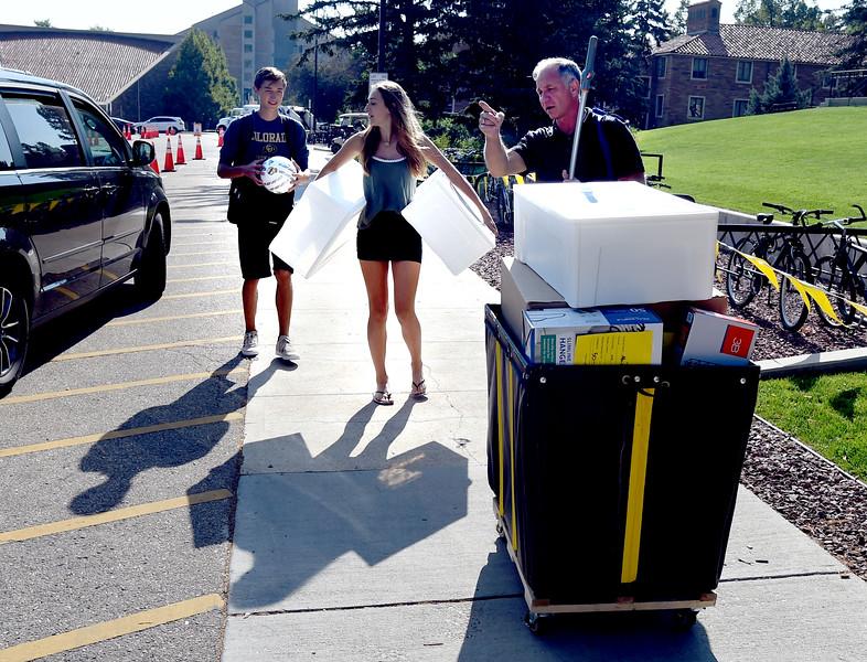 University of Colorado Move In