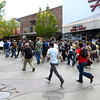 Marchers in the Occupy 4/20 rally move up 13th Street on University Hiil as they work their way up to the CU Boulder Campus  Friday afternoon April 20, 2012. <br /> <br /> Photo by Lewis Geyer   /  The Camera