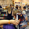 "University of Colorado students line up to pay for books and supplies at the Colorado Bookstore on Sunday.<br /> The Colorado Bookstore on the Hill had a busy weekend with students preparing for the first day of classes.<br /> For more photos and a video, go to  <a href=""http://www.dailycamera.com"">http://www.dailycamera.com</a>.<br /> Cliff Grassmick / August 22, 2010"