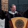 "John Wood, a 1986 CU grad and creator of ""Room to Read,"" gave the commencement address.<br /> The University of Colorado conferred 5,825 degrees at Folsom Field Friday, May 7, 2010.<br /> Cliff Grassmick / May 7, 2010"