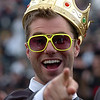 Max Barrett is a graduate and a king for a day.<br /> The University of Colorado conferred 5,825 degrees at Folsom Field Friday, May 7, 2010.<br /> Cliff Grassmick / May 7, 2010