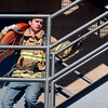 "CU student, Blake Padilla, runs up the stairs in full fire gear and a 45-pound hose during a training exercise.<br /> The Boulder Fire Department hosted the Leadership Fire Academy for University of Colorado students from sororities, fraternities, student government, and other organizations in hopes of giving them life-saving information they care share with their peers.<br /> For more photos and a video, go to  <a href=""http://www.dailycamera.com"">http://www.dailycamera.com</a><br /> Cliff Grassmick / September 25, 2010"