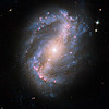 NGC 6217<br /> Barred Spiral Galaxy NGC 6217<br /> <br /> This image of barred spiral galaxy NGC 6217 is the first image of a celestial object taken with the newly repaired Advanced Camera for Surveys (ACS) aboard the Hubble Space Telescope. The camera was restored to operation during the STS-125 servicing mission in May to upgrade Hubble.
