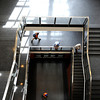 "People walk down the stairs on Wednesday, April 25, at the new Jennie Smoly Caruthers Biotechnology building on the University of Colorado campus in Boulder. For more photos and video of the building go to  <a href=""http://www.dailycamera.com"">http://www.dailycamera.com</a> <br /> Jeremy Papasso/ Camera"