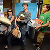 "Nancy Roncevich, left, and her sons, Evan and Taylor, wait for the elevator in Stearns East during the Williams Village move in on Thursday.<br /> For more photos and a video of the Williams Village move in, go to  <a href=""http://www.dailycamera.com"">http://www.dailycamera.com</a>.<br /> Cliff Grassmick  / August 23, 2012"