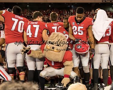 Hairy Dawg, Georgia players