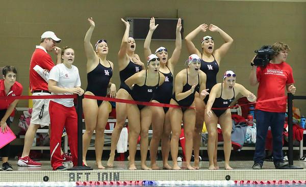 UH Swim and Dive vs SMU 2015