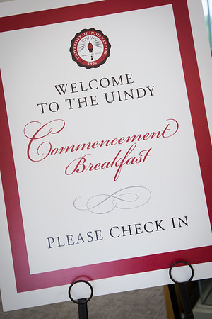 UIndy Commencement Breakfast 5.7.16