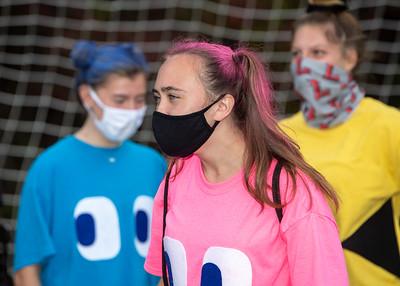 U of L Womens Soccer Halloween Practice