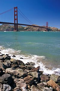 Golden Gate and Rocks 2