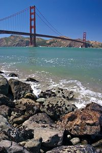 Golden Gate and Rocks 1