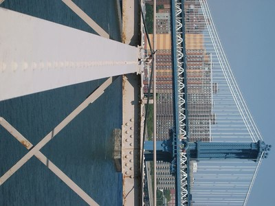 Brooklyn Bridge girder
