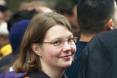 Tatyana face crowd
