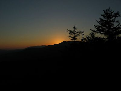 Mountain sunset 3