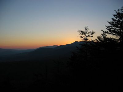Mountain sunset 4