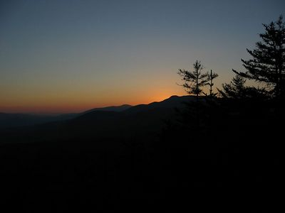 Mountain sunset 5