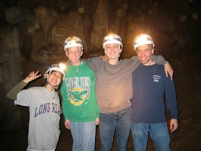 Judy, Nancy, James Links cave